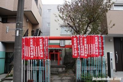 芭蕉稲荷神社(江東区常盤)1
