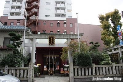 笠間稲荷神社(中央区浜町)1