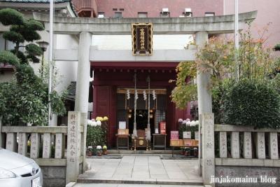 笠間稲荷神社(中央区浜町)2