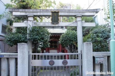 白旗稲荷神社(中央区日本橋本石町)1
