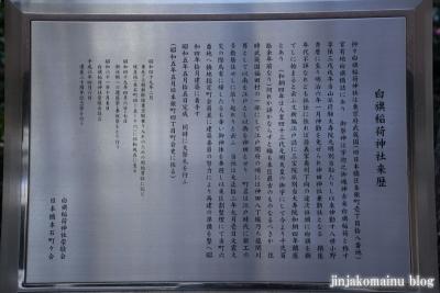 白旗稲荷神社(中央区日本橋本石町)3