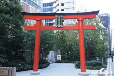 福徳稲荷神社(中央区日本橋室町)1