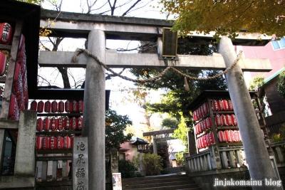池尻稲荷神社(世田谷区池尻)1