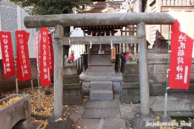 池尻稲荷神社(世田谷区池尻)19