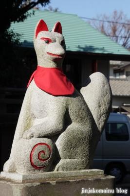 久富稲荷神社(世田谷区新町)8