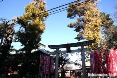 久富稲荷神社(世田谷区新町)1