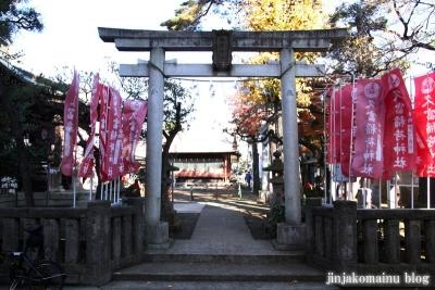 久富稲荷神社(世田谷区新町)2