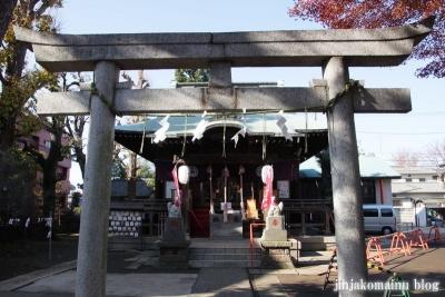 久富稲荷神社(世田谷区新町)6
