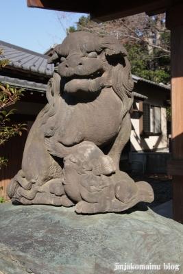 代田八幡神社(世田谷区代田)20