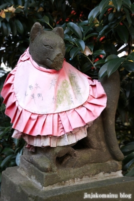 松葉稲荷神社(世田谷区松原)6