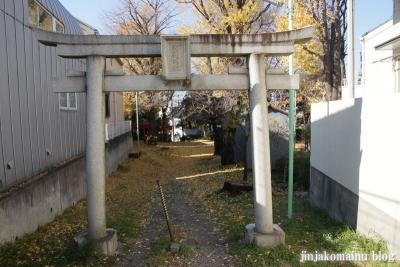 松葉稲荷神社(世田谷区松原)1