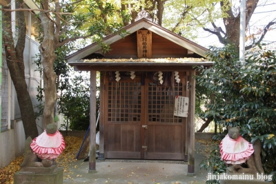 松葉稲荷神社(世田谷区松原)5