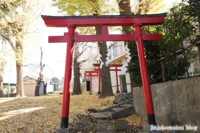 松葉稲荷神社(世田谷区松原)10