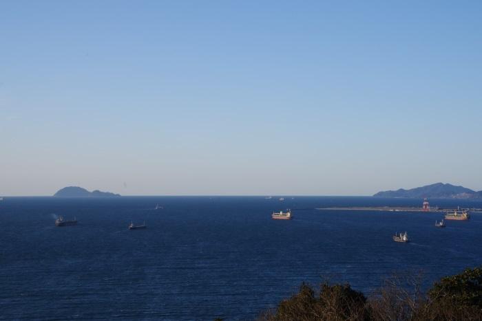 タンカーの海