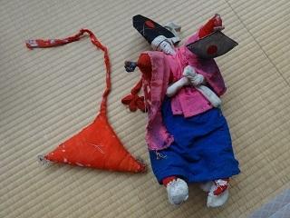 三番叟の人形