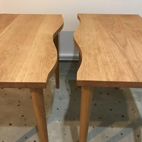 那須高原 じざい工房 小林康文のテーブル