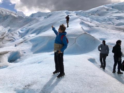 氷河トレキ6