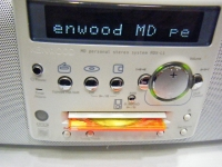 KENWOOD MD PERSONAL STEREO SYSTEM MDX-L1重箱石07