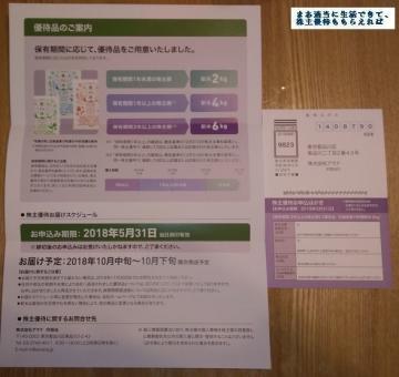 アマナ 優待案内01 201712