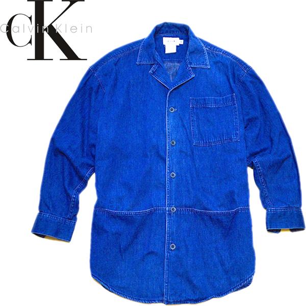 カルバンクラインCKジャケットコート画像メンズレディースコーデ@古着屋カチカチ05