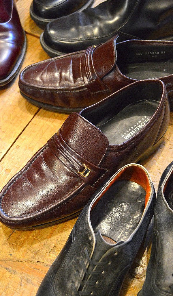 Used Leather Shoes革靴レザーシューズ画像メンズコーデ@古着屋カチカチ04
