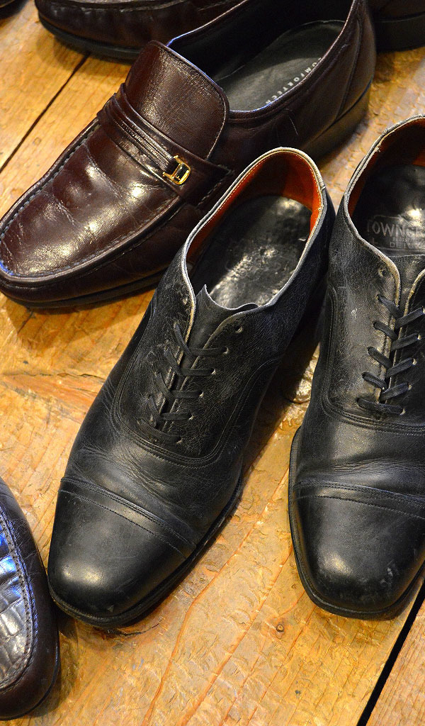 Used Leather Shoes革靴レザーシューズ画像メンズコーデ@古着屋カチカチ05