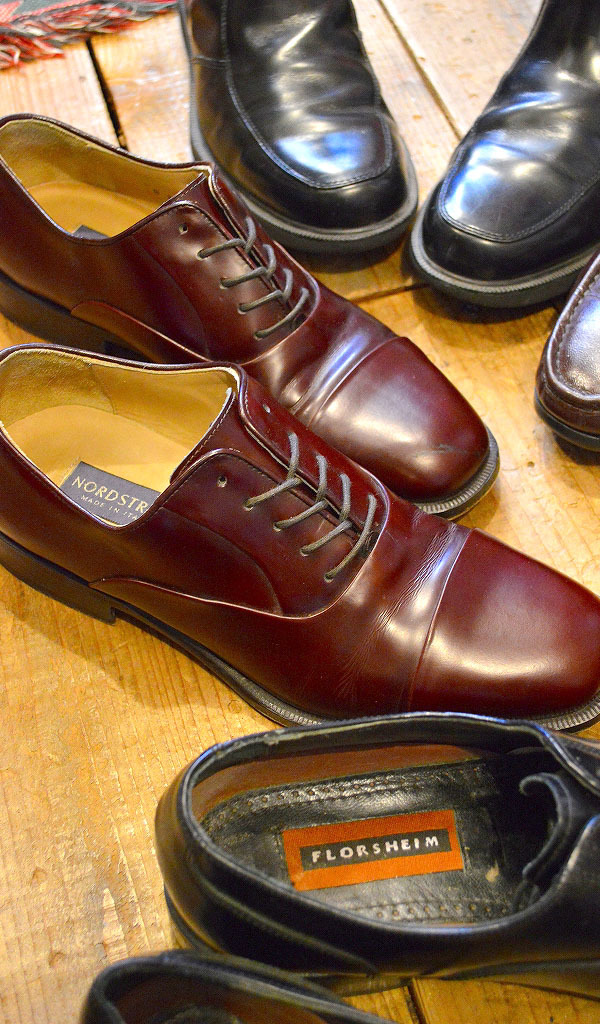 Used Leather Shoes革靴レザーシューズ画像メンズコーデ@古着屋カチカチ08