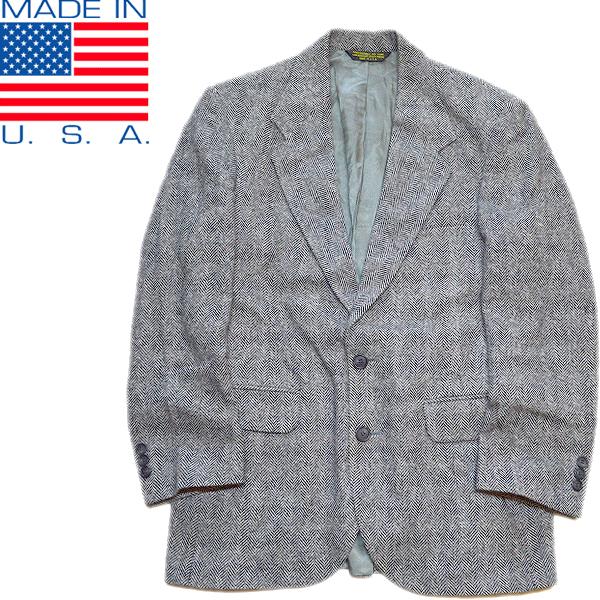 太畝コーデュロイ本革ウールジャケット画像メンズレディースコーデ@古着屋カチカチ04