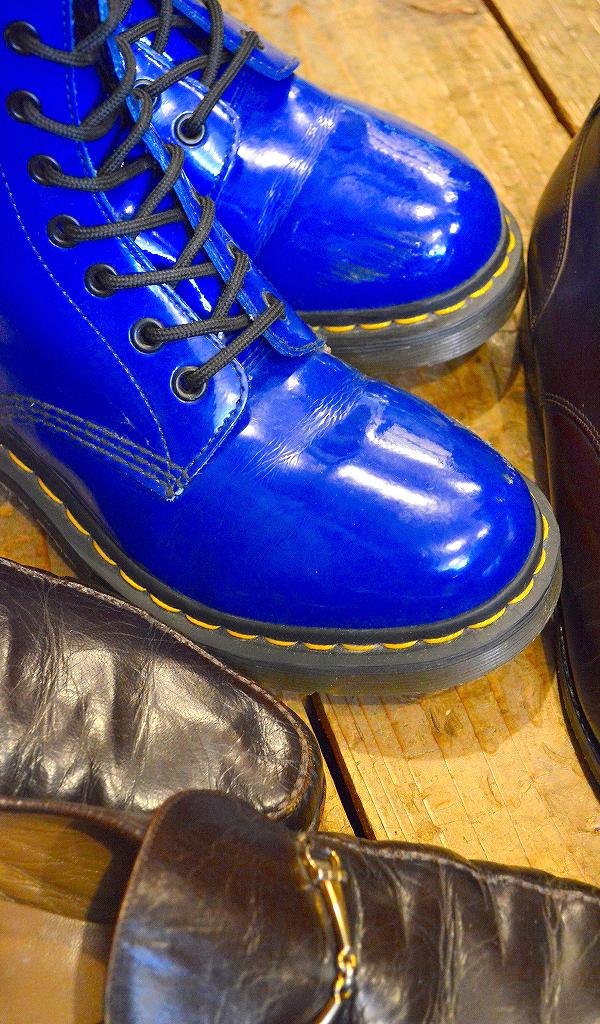 レザーシューズ革靴レザーブーツ画像メンズレディースコーデ@古着屋カチカチ01