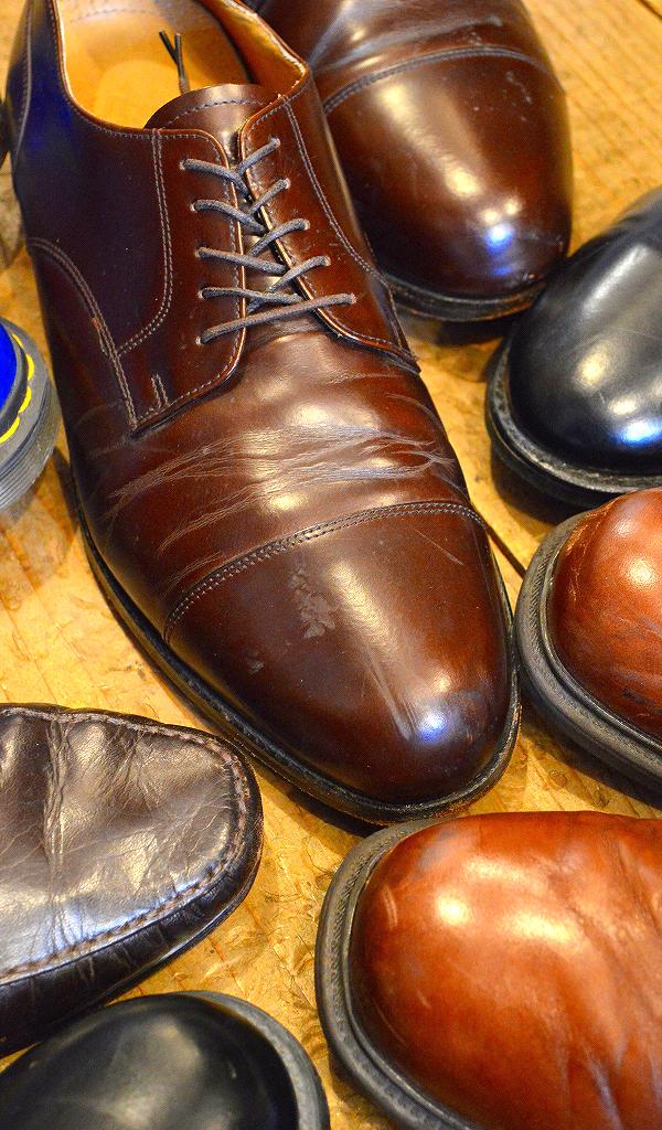 レザーシューズ革靴レザーブーツ画像メンズレディースコーデ@古着屋カチカチ02