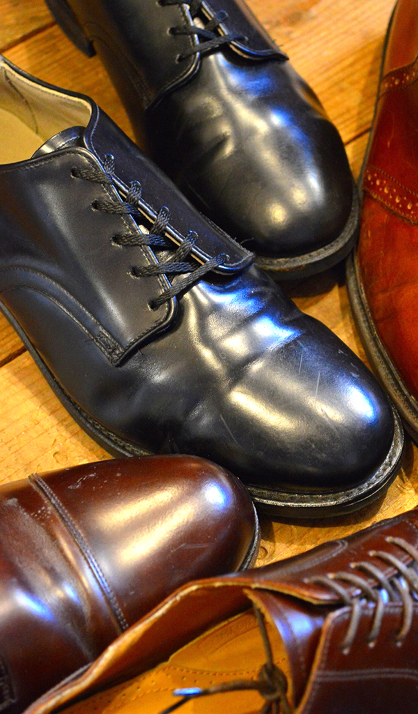 レザーシューズ革靴レザーブーツ画像メンズレディースコーデ@古着屋カチカチ03