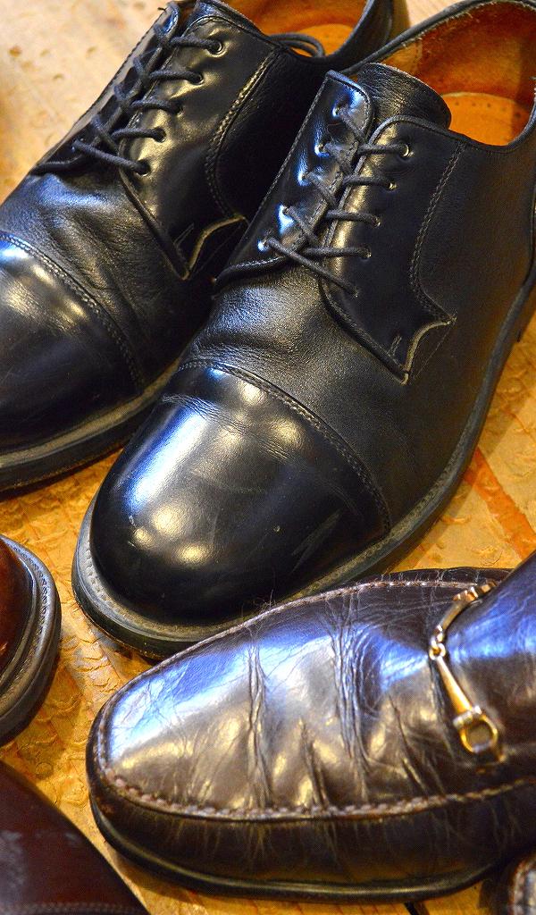 レザーシューズ革靴レザーブーツ画像メンズレディースコーデ@古着屋カチカチ05