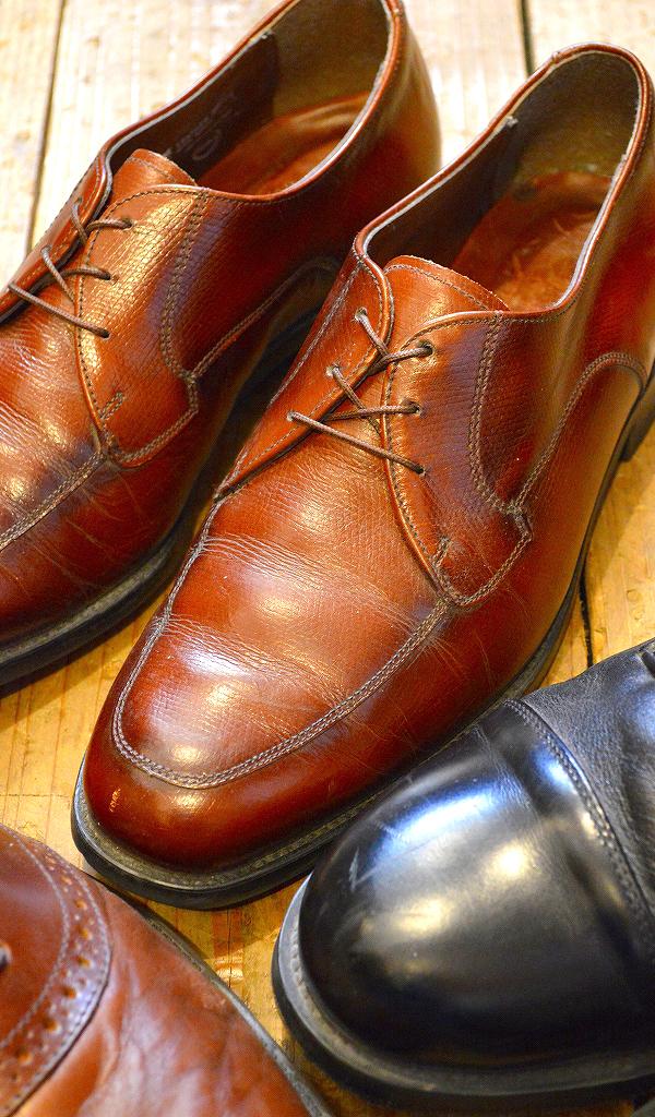 レザーシューズ革靴レザーブーツ画像メンズレディースコーデ@古着屋カチカチ04