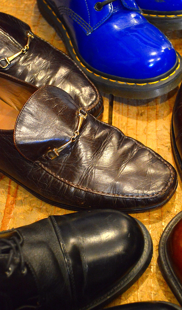 レザーシューズ革靴レザーブーツ画像メンズレディースコーデ@古着屋カチカチ07
