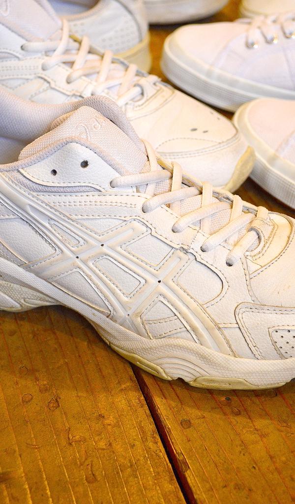 USED白スニーカー画像メンズレディースシューズコーデ@古着屋カチカチ02