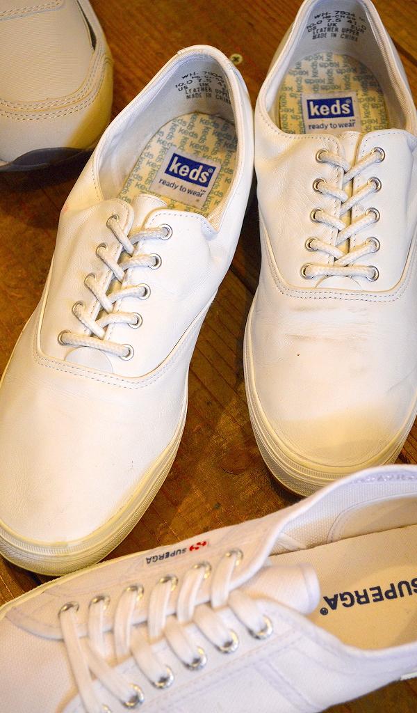 USED白スニーカー画像メンズレディースシューズコーデ@古着屋カチカチ05