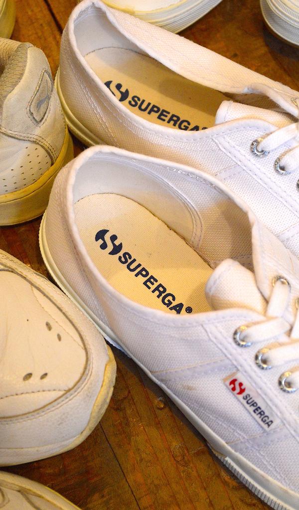 USED白スニーカー画像メンズレディースシューズコーデ@古着屋カチカチ011