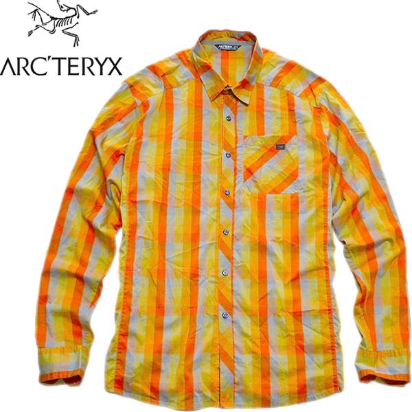 USEDチェックシャツ画像メンズレディースコーデ@古着屋カチカチ01