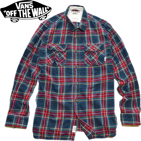 USEDチェックシャツ画像メンズレディースコーデ@古着屋カチカチ02