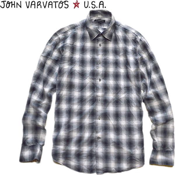 USEDチェックシャツ画像メンズレディースコーデ@古着屋カチカチ06