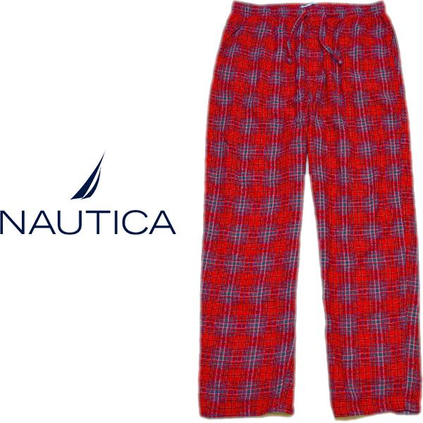 ノーティカNauticaチェック柄パジャマパンツ画像メンズレディーススタイルコーデ@古着屋カチカチ03