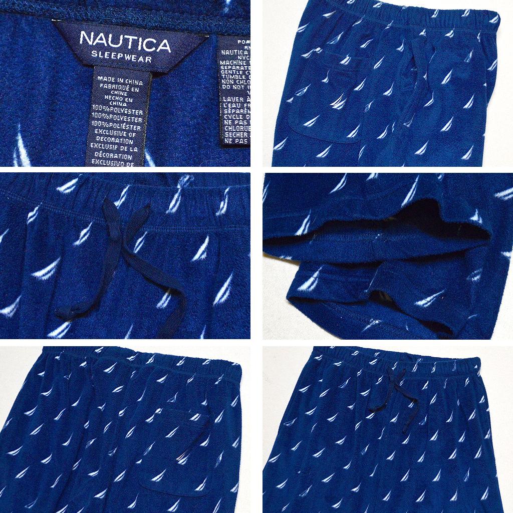 ノーティカNauticaチェック柄パジャマパンツ画像メンズレディーススタイルコーデ@古着屋カチカチ02