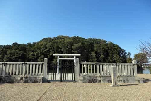 180317垂仁天皇陵