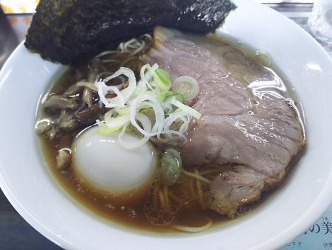 かき正油らぁ麺