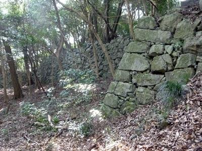 岩国城_北ノ丸下石垣2