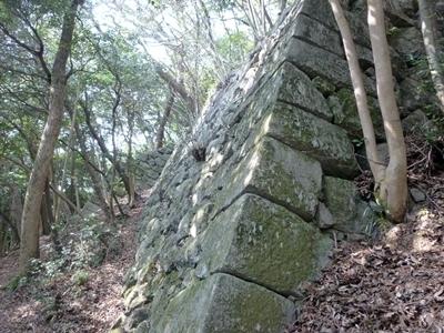 岩国城_北ノ丸下石垣3