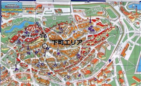 タリンの旧市街マップ