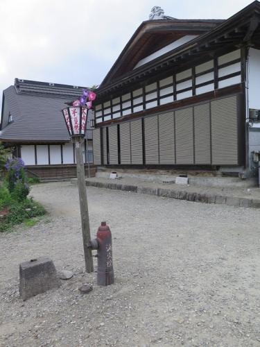 大内宿 消火栓