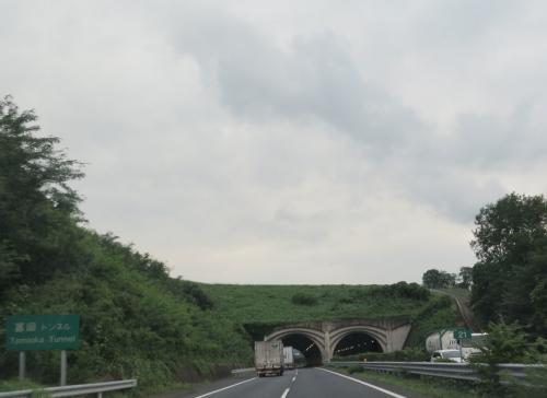 東北自動車道 富岡トンネル