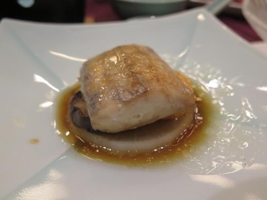 焼物 太刀魚の塩焼き 蓼酢だれ